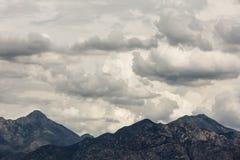 Толстое облако лета Стоковые Изображения RF