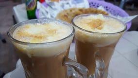 Толстый cream чай Стоковое фото RF