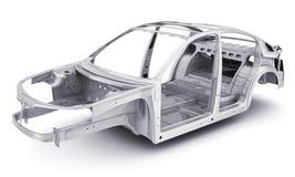 Только автомобиль тела Стоковое Изображение