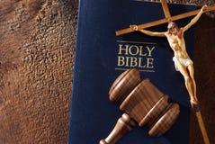 Только бог может судить Стоковое Изображение RF