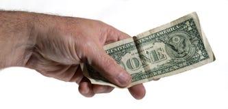 Только один доллар Стоковое Фото