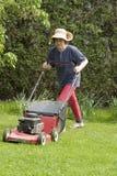 трава вырезывания Стоковые Фотографии RF