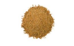Трава или травяная куча смешивания перца изолированные на белой предпосылке Взгляд сверху стоковая фотография rf
