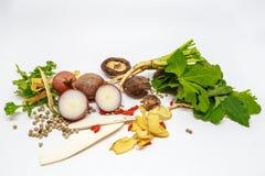 Трава и овощи Стоковое Фото
