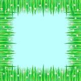 трава рамки цветков Стоковые Изображения RF