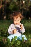 трава ребенка стоковые фото