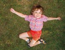 трава ребенка Стоковое Изображение
