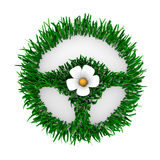 трава сделала рулевое колесо Стоковые Изображения