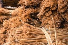 Трава соломы Стоковое Изображение RF