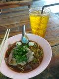 Трава Таиланда сока чая хризантемы Стоковые Фото