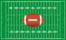 трава футбола поля Стоковые Изображения RF