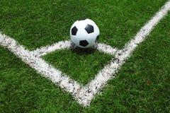 Трава футбольного поля Стоковое Изображение RF
