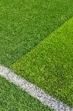 Трава футбольного поля Стоковая Фотография RF
