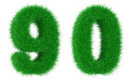 трава числа Стоковое Фото