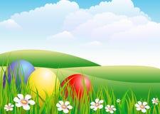 трава яичек иллюстрация вектора