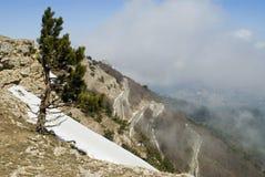 траверза дороги горы Стоковые Фотографии RF