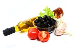 травы бутылки смазывают оливку Стоковое Фото