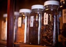 Травы медицины традиционного китайския стоковое фото rf
