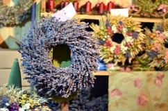 Травы тимиана катят и другие травы душат фотографию Стоковое фото RF
