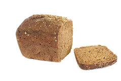 травы хлеба диетические изолировали белизну рожи Стоковое Изображение