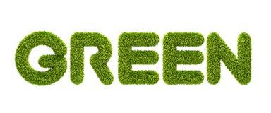 травянистое символическое слово Стоковые Изображения RF