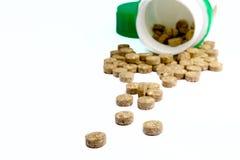 травянистые таблетки опарника Стоковая Фотография RF