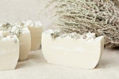 травяное естественное мыло Стоковое Изображение RF