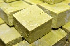 Травяное домодельное мыло Стоковое Фото