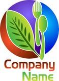 Травяной логотип еды Стоковая Фотография
