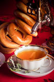 травяной русский чай Стоковые Фотографии RF