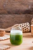 Травяной сок зеленого momodica, яблока бальзама, груши бальзама, Bitt Стоковое Изображение