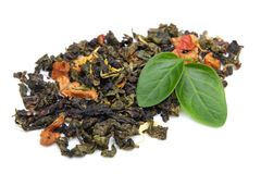 травяной чай листьев трав Стоковые Изображения