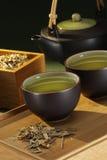 травяной чай стоковое изображение rf