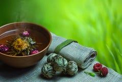 травяной чай стоковое фото rf