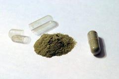 травяные дополнения Стоковое фото RF