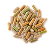 Травяные капсулы стоковое фото rf