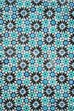 Традиционная богато украшенная португальская декоративная синь покрасила azulejos плиток стоковые фото