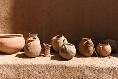Традиционная гончарня в kasbah Amridil, Марокко Стоковое Изображение RF