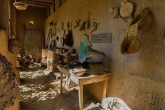 Традиционная гончарня в kasbah Amridil, Марокко Стоковое фото RF