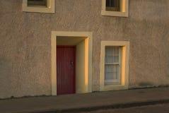 Традиционная дверь Fife Стоковая Фотография