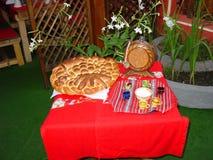 Традиционная еда Стоковая Фотография RF