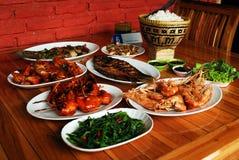 Традиционная еда Стоковые Фото