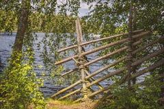 Традиционная загородка wattle Стоковое фото RF