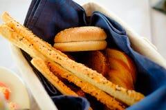 Традиционная итальянская закуска, хлеб - grissini Стоковое Изображение