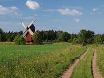 Традиционная красная ветрянка Стоковая Фотография RF