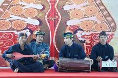 традиционная музыка Sasak gamelan Стоковое фото RF
