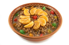 Традиционная тарелка Кристмас Стоковое Изображение RF