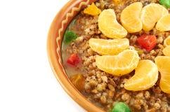 Традиционная тарелка Кристмас Стоковая Фотография