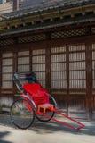Традиционная японская рикша Стоковое Изображение RF