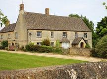 традиционное английского сельского дома сельское Стоковое фото RF